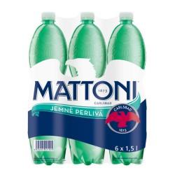 Mattoni jemně perlivá 6x1,5l