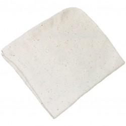 Prachovka tkaná Bobina 42 x 40cm, bílá