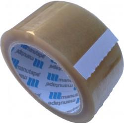 Lepící páska POP 50mm x 66m, transp., silně lepící, SOLVENT