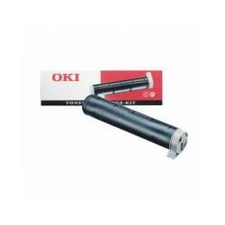 Cartridge Oki OPg4W, černá náplň, ORIGINÁL