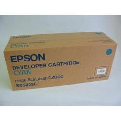 Cartridge Epson S050036C, modrá náplň, ORIGINÁL