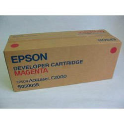 Cartridge Epson S050035M, červená náplň, ORIGINÁL