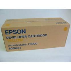Cartridge Epson S050034Y, žlutá náplň, ORIGINÁL