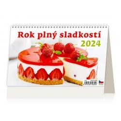 """S05-22 - stolní kalendář """"Rok plný sladkostí"""""""