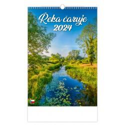 """N114-21 - nástěnný kalendář """"Řeka čaruje"""""""
