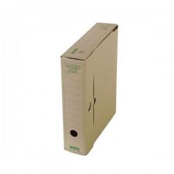 Archiv.krabice A4/ 7,5cm, skl. karton EMBA Natural