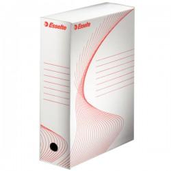 Archivní krabice A4 kartonová bílá, šíře 10cm, ES128102