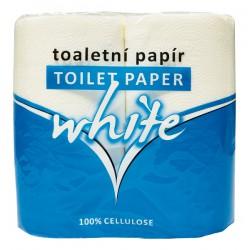 Toaletní papír White 150 útr., 2 vr., 4 role