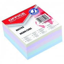 Špalíček lepený 85x85x40mm, barevný, DOX 8308502-99X