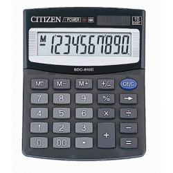Kalkulačka CITIZEN SDC-810, 10 míst
