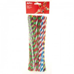 Drátek - žinylka, 30 cm, průměr 6 mm, 50 ks, Twist