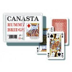 Karty CANASTA, v papírové krabičce