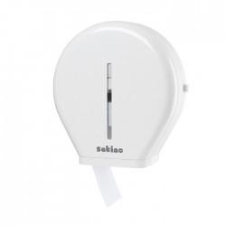 Zásobník toal. papíru, průměr 28 cm, plastový, bílý