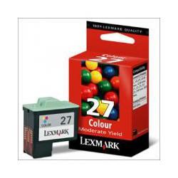 Cartridge Lexmark č.27, 10NX227, barevný ink., ORIGINÁL