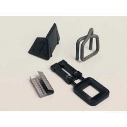 Vázací spony kovové 12 mm x 0.5 mm, 4000 ks