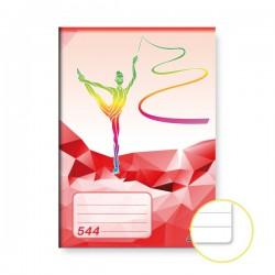Sešit 544, A5/40 listů, linkovaný