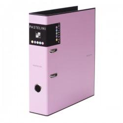 Pořadač pákový A4/80, Pastelini, růžový