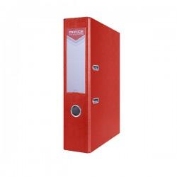 Pořadač pákový EKO POP A4/70, rado, OFFICE, červený