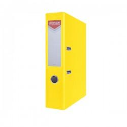 Pořadač pákový EKO POP A4/70, rado, OFFICE, žlutý