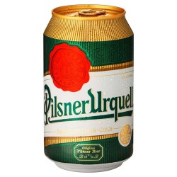 Pivo Pilsner Urquell, plech 24 x 330ml