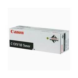 Toner Canon C-EXV 18, černá náplň, ORIG.