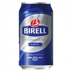 Pivo Birell, plech, 24x330ml, nealkoholické
