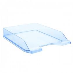 Zásuvka stohovací transparentní, modrá
