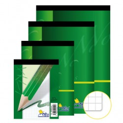 Blok 14055, A4/50 listů, čtvereček, šitý