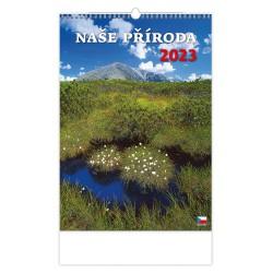 """N112-21 - nástěnný kalendář """"České hory"""""""