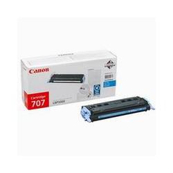 Cartridge Canon CRG 707C, modrý tisk, ORIGINÁL