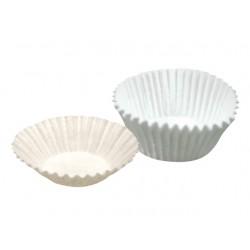 Cukrářský košíček 50x30 mm bílé, 100 ks