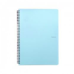Blok kroužkový Pastelini - A5, linka, modrý
