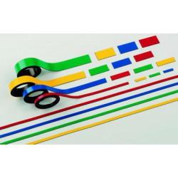 Magnetický pásek 10 mm x 1000 mm, 2 ks, červený
