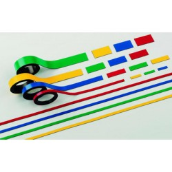 Magnetický pásek 20 mm x 1000 mm, 2 ks, zelený