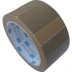 Lepící páska POP 50mm x 66m, hnědá, silně lepící, SOLVENT