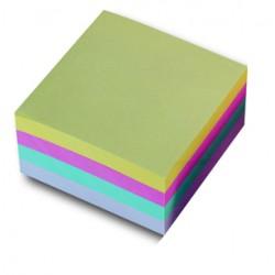 Samolep. bloček, 75x75mm, 4 barvy x 100 listů, CONCORDE