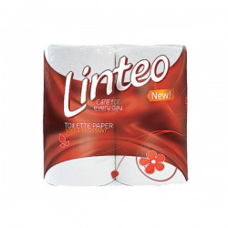Toaletní papír Linteo Classic, bílý, 200 útr., 2 vr. 64 rolí