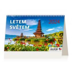 """S28-22 - stolní kalendář """"Na houbách"""""""