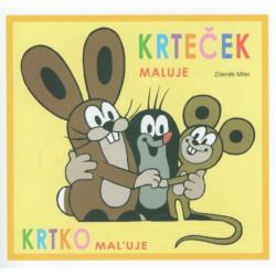 Omalovánky A5 - Krtek - mix příběhů