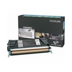 Cartridge Lexmark C5240KHigh - capacity, černá, ORIGINÁL