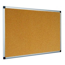 Tabule korková 90 x 120 cm, hliníkový rám
