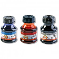 Inkoust BRILIANT, 50g v lahvičce, červený