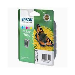 Cartridge Epson T016401, tri-color ink., ORIGINÁL
