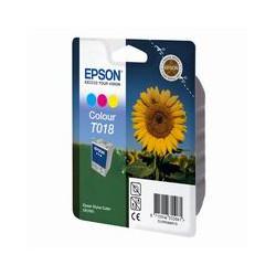 Cartridge Epson T018401, tri color ink., ORIGINÁL