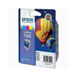 Cartridge Epson T020401, tri-color ink., ORIGINÁL