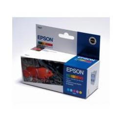Cartridge Epson T027401, tri-color ink., ORIGINÁL