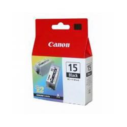 Cartridge Canon č.15BK, BCI-15 BK - 2ks, černý ink., ORIG.