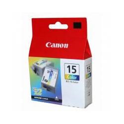 Cartridge Canon č.15BK, BCI-15 C - 2ks, barevný ink., ORIG.