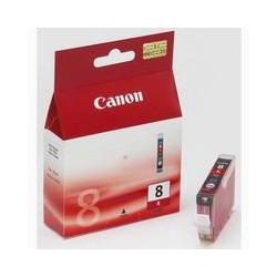 Cartridge Canon CLI-8R, červený ink., ORIGINÁL