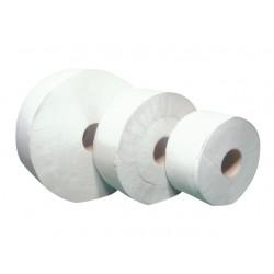 Toaletní papír Jumbo, 24 cm, bílá celulóza, 2 vr., 1 role